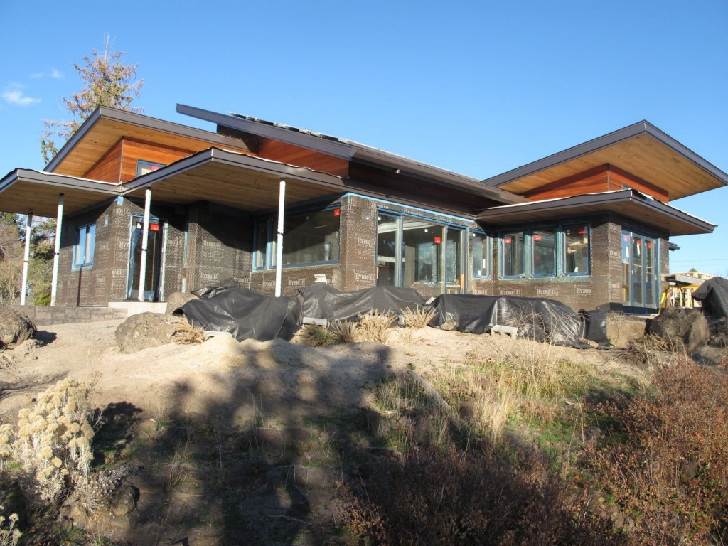Desert Rain showcases 'good wood' using either FSC - certified woods, reclaimed, or salvaged wood.