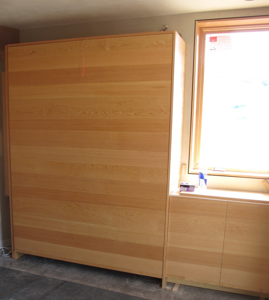 Cabinets throughout the structure are made from FSC- certified wood.